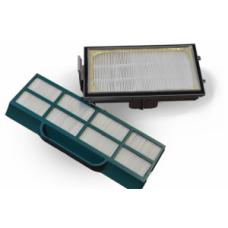 Комплект фильтров HEPA 170 x 96+208 x 72mm green пылесоса SUPRA VCS-2015 арт.VCL 0002