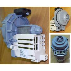 WASH MOTOR/PUMP 240V 60w+ SEAL (DW) (Насос циркуляции), зам.256523, 302800, 301047, 301919,303737
